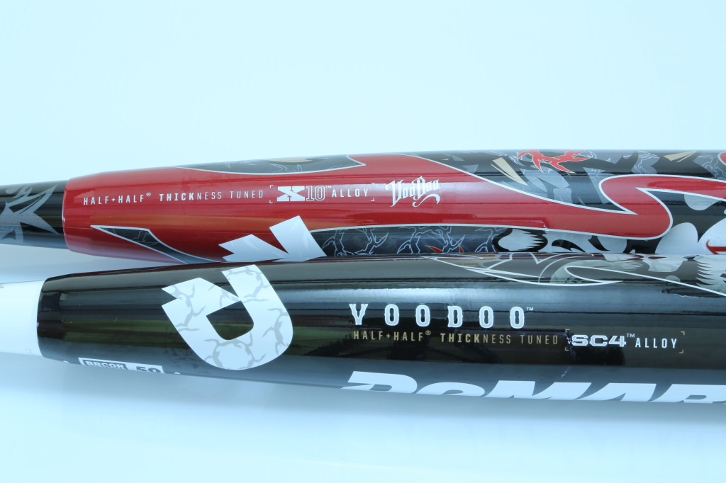 2012 vs 2013 DeMarini Voodoo Baseball Bat BBCOR