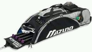 Mizuno bats and equipment